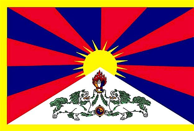 Bildergebnis für tibetische flagge